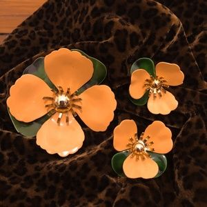Sarah Coventry Vintage Brooch/Earrings Set